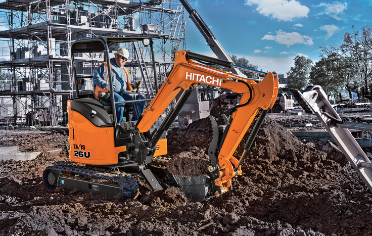 This machine is nimble and designed to keep its tail close to its tracks – so you can work where others can't.