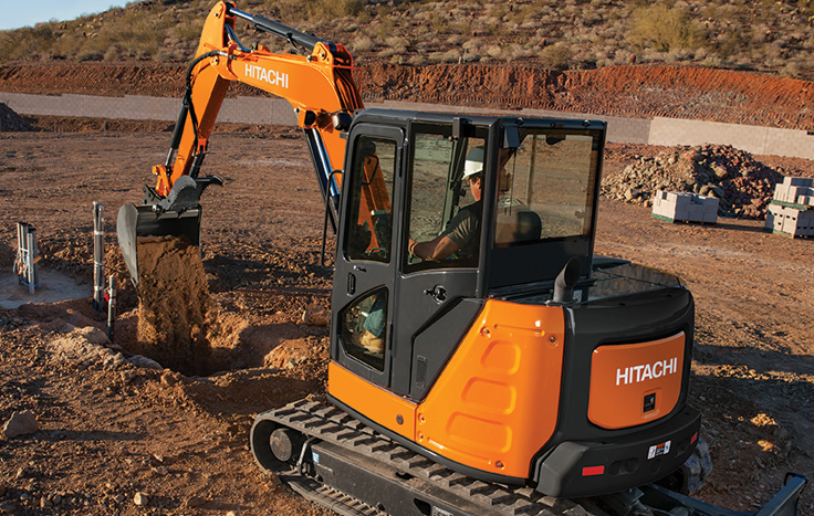 We've reduced the size and footprint without sacrificing the Hitachi qualities you've come to expect – efficiency, reliability and durability.