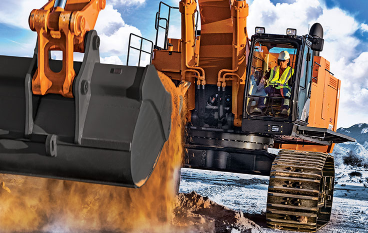 The production-class excavator features a fuel-efficient EPA Final Tier 4 (FT4)/EU Stage IV Isuzu engine that meets rigid emission standards. The best part? No diesel particulate filter (DPF) is needed.