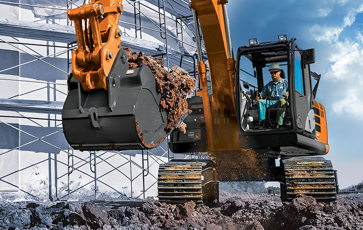 Easy-to-operate controls are smooth and responsive – just what you've come to expect from Hitachi.