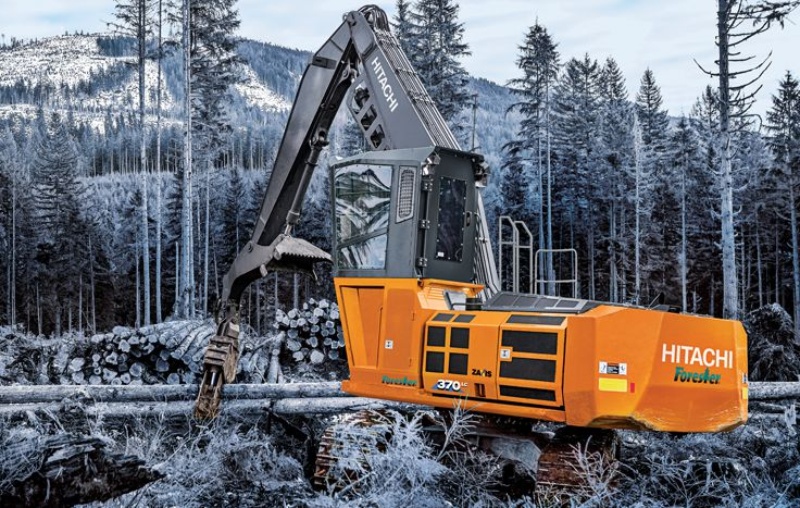 The largest of the Hitachi Forester family, the ZX370F-6 is a powerful force to be reckoned with.