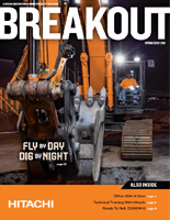 Hitachi Breakout Magazine Spring 2018 cover