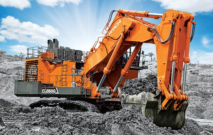 The EX2600-7 delivers rock solid performance.