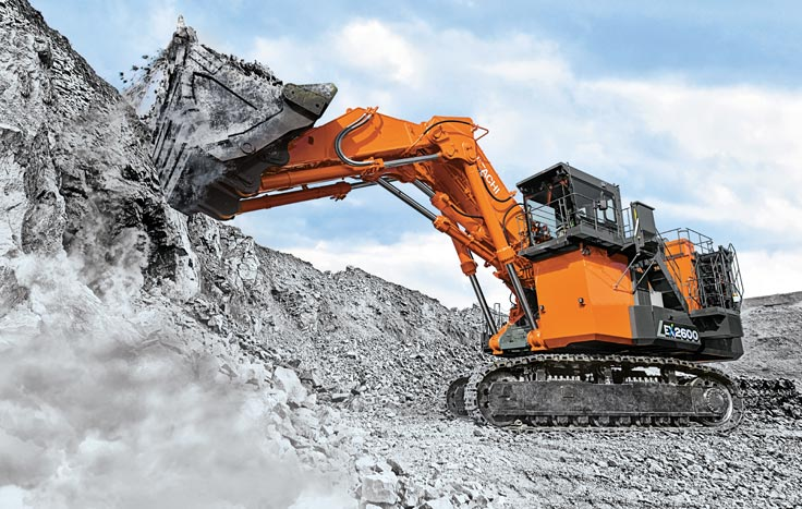The machine features the latest advancements in engine and fuel optimization technologies.