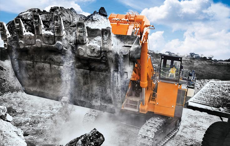The EX5600-7 provides you with efficiency, reliability and durability for all kinds of jobs.