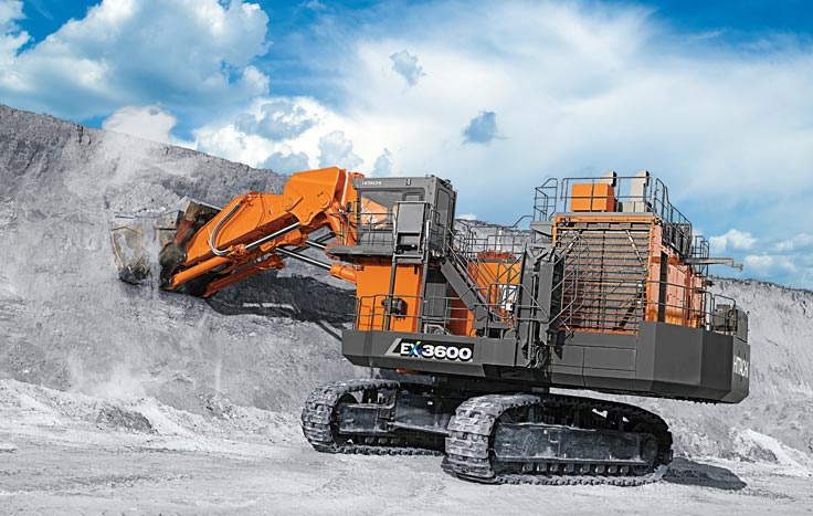 The EX3600-7 is built to outwork and outlast.