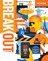 Hitachi Breakout Magazine Summer 2020 cover